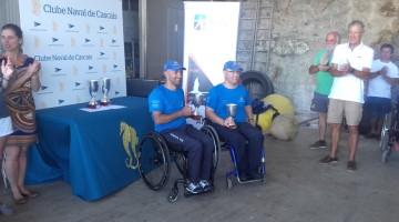 Guilherme Ribeiro e Luís Ramalho, vice-campeões nacionais Hansa 303 duplos, líderes do 'ranking' nacional e apurados para o europeu da classe (®DR)