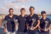 Equipa Honda Marine - Grow: André Domingues, Matthias Sandeck, Jody Lot e Humberto Silva (®GrowPortugal)