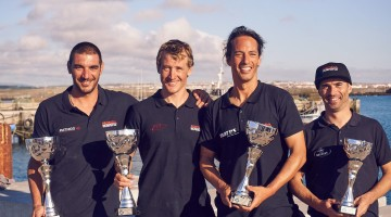 Equipa Honda Marine - Grow: André Domingues, Matthias Sandeck, Jody Lot e Humberto Silva (®GrowPortugal)