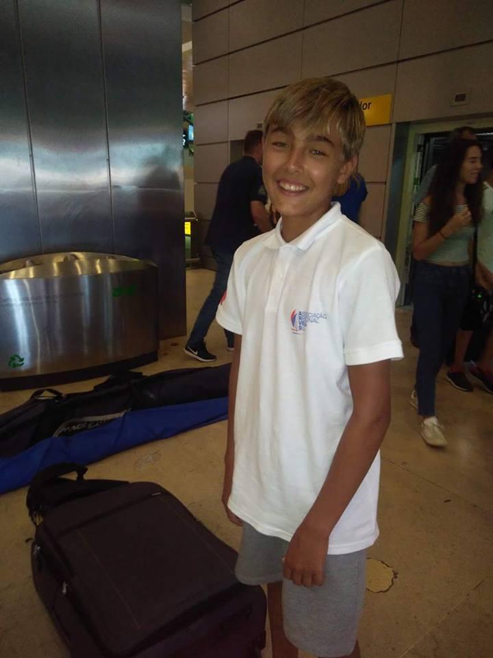 Vladislav Bedlinskyy tem 13 anos de idade e este é o seu ano de afirmação na vela desportiva (®DR)