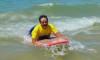 O prazer do momento bem estampado na face deste surfista muito especial (®CamilaPoucochinho(arquivo2016)