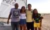 Salvador Varela, Beatriz Gago, Frederico Rato e Beatriz Cintra, no areal da Praia da Rocha, junto ao Tropical by Outro (®PauloMarcelino)