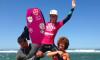 Joana Schenker celebra a vitória na etapa europeia ETB no Miss Activo Cup, evento no qual venceu também a etapa nacional (®AndreNeto)