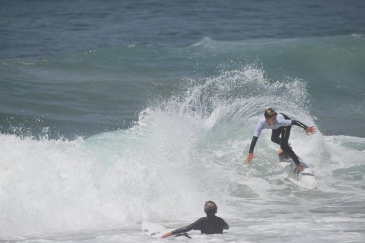 Grom algarvio já tinha o apoio da Ferox Surfboards (®DR)