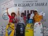 Joana Schenker, à direita, no pódio feminino do Tahara Pro, no Japão (®DR)