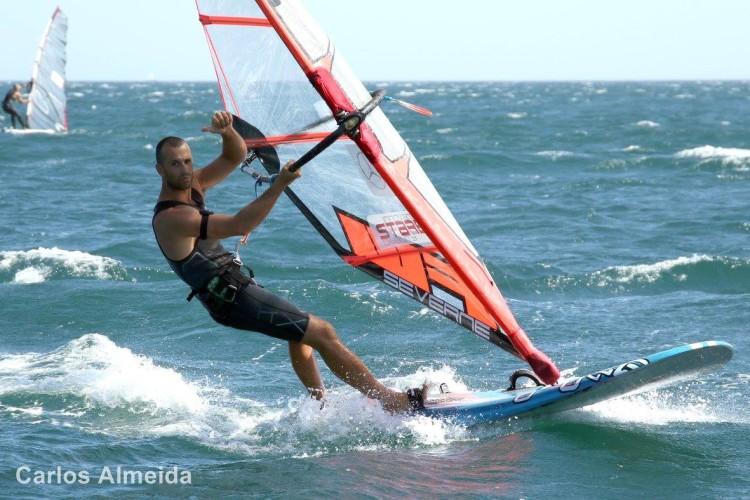 Miguel Martinho venceu a etapa em Lagos, na imagem, e conquistou o seu 19º título nacional em 20 anos (®CarlosAlmeida/AFWP)