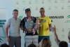 Algarvio Miguel Martinho, à direita, venceu o campeonato e Fernando Martinez Del Cerro, à esquerda, foi 2º e sagrou-se campeão nacional de Espanha (®FranciscoDouglas/FAV)