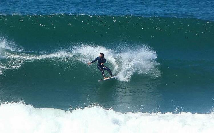 Matilde Passarinho tem evoluído muito no seu surf e vai ter agora a sua primeira internacionalização (®DR)