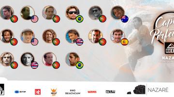 Os 16 finalistas. Algarvio Alex Botelho é a primeira fotografia (®DR)