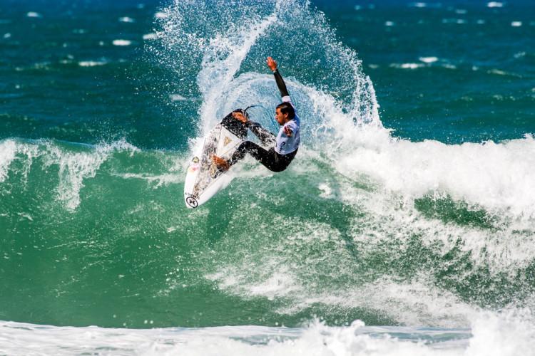 Vasco Ribeiro ganhou um wildcard para a prova do CT em Peniche e conquistou o seu quarto título nacional (®PedroMestre/ANS)