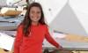 Algarvia Beatriz Cintra é atleta do Clube Naval de Portimão. Já este ano representou Portugal no Mundial Optimist (®PauloMarcelino/Arquivo)