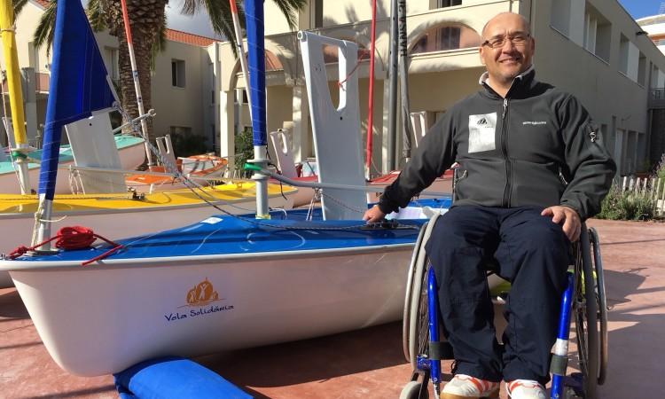 Luís Ramalho conseguiu em Mèze um resultado positivo, dada a sua falta de experiência em WS303 (®VelaSolidaria)