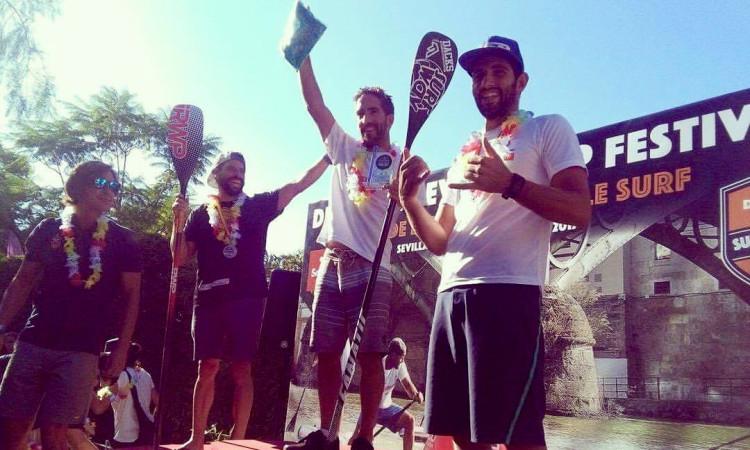 Algarvio Diogo Sousa, em primeiro plano, alcançou em Espanha mais um pódio (®DR)