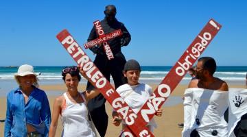 Guerra contra a exploração de petróleo e gás no Algarve e no Alentejo reacendeu-se (®PauloMarcelino/Arquivo)