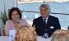 Isilda Gomes, presidente da Câmara Municipal de Portimão, e Gian Francesco Lupattelli, presidente da ACES Europe (®PauloMarcelino)