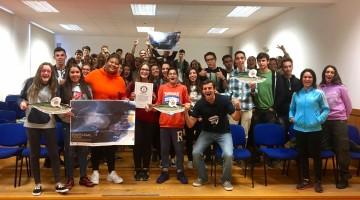 Francisco Lufinha partilhou experiências com alunos do novo CFD de Surf e Stand Up Paddle do Ag. Gil Eanes, em Lagos (®DR)