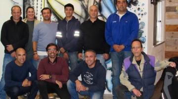 Sócios fundadores e elementos dos corpos sociais da ADSURF - Associação Desportiva dos Surfistas Unidos da Região de Faro (®DR)