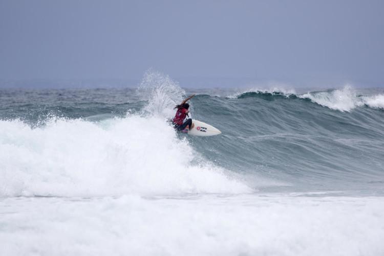 Teresa Bonvalot obteve em Nova Gales do Sul o seu melhor resultado da época no circuito mundial de qualificação (®ANS/WSL)