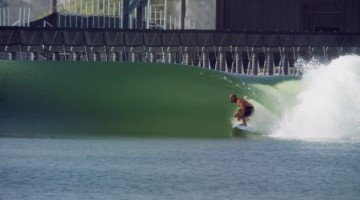 Tecnologia de ondas artificiais desenvolvida por Kelly Slater na California vai ser usada no Championship Tour em 2018 (®KSWC)