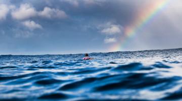 CEO da World Surf League promete que PURE e a saúde dos oceanos vão estar no centro de tudo o que a WSL fizer no futuro (®WSL)