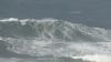 João de Macedo apanhou ontem na Nazaré a maior onda do dia, na imagem (®RemiBerthet)