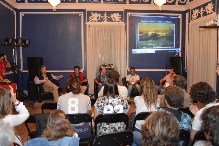 Palestra no Clube União Portimonense, organizada pelo Portimão Surf Clube (@paulomarcelino)