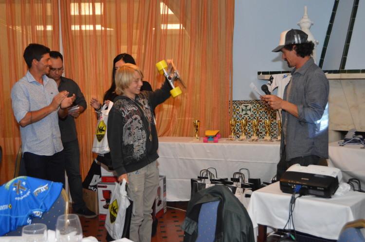 Pódio Sub-12 incompleto: Valentino Miguel, vencedor (®paulomarcelino)