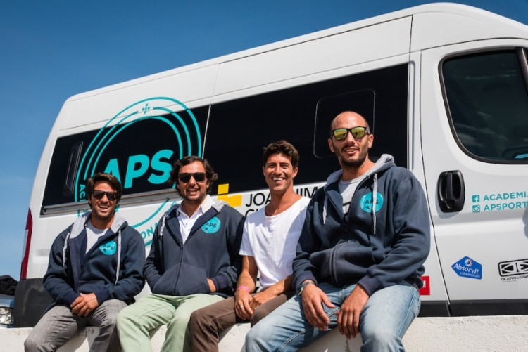 Da esquerda: Nuno Telmo, David Raimundo, Miguel Mouzinho e Enrique Lenzano (®APS)