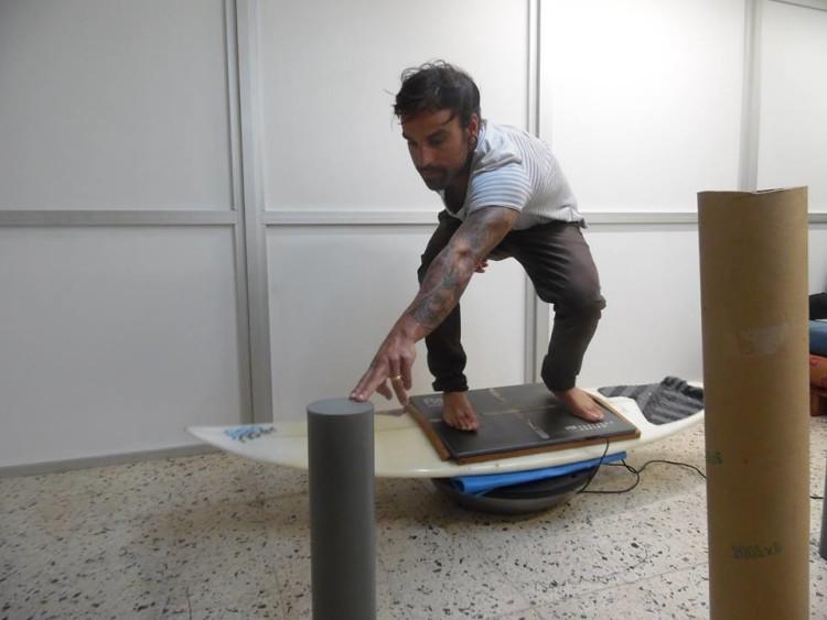 Bruno Santos, treinador do Portimão Surf Clube, também integra o grupo de controlo na investigação (®DR)