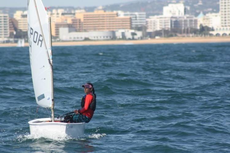 Beatriz Gago, do CNPortimão, venceu o 'ranking' de apuramento (®DR)