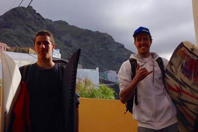 'Martim' e Francisco viajaram juntos para Tenerife (®NSM)