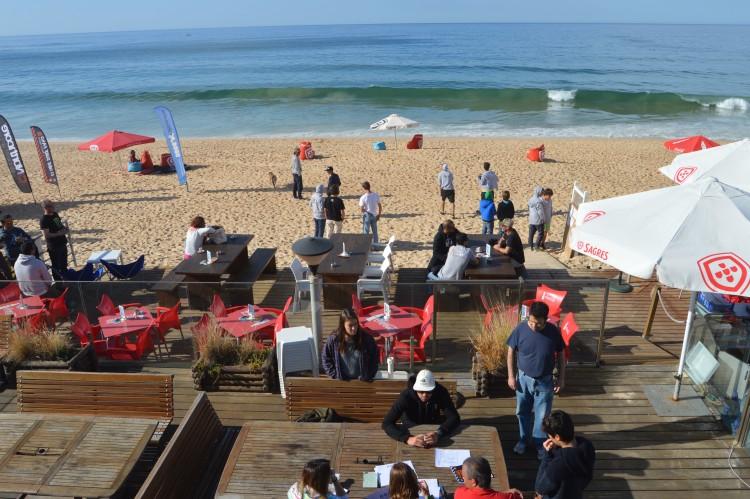 Etapa em Faro tem esplanada para o público mesmo em frente à área de competição (®PauloMarcelino/Arquivo)