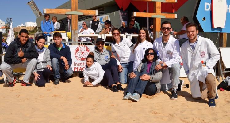 Escola Superior de Saúde Jean Piaget - Algarve deu apoio ao campeonato (®PauloMarcelino)