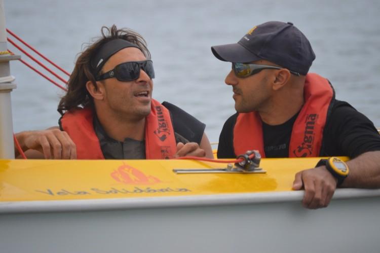 João Pinto e Guilherme Ribeiro, a dupla campeã nacional Access 303 Duplos (®PauloMarcelino/Arquivo)