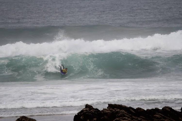 Mar esteve muito difícil, mas abriu algumas paredes nas meias-finais Open (®PauloSilva/NBZM)