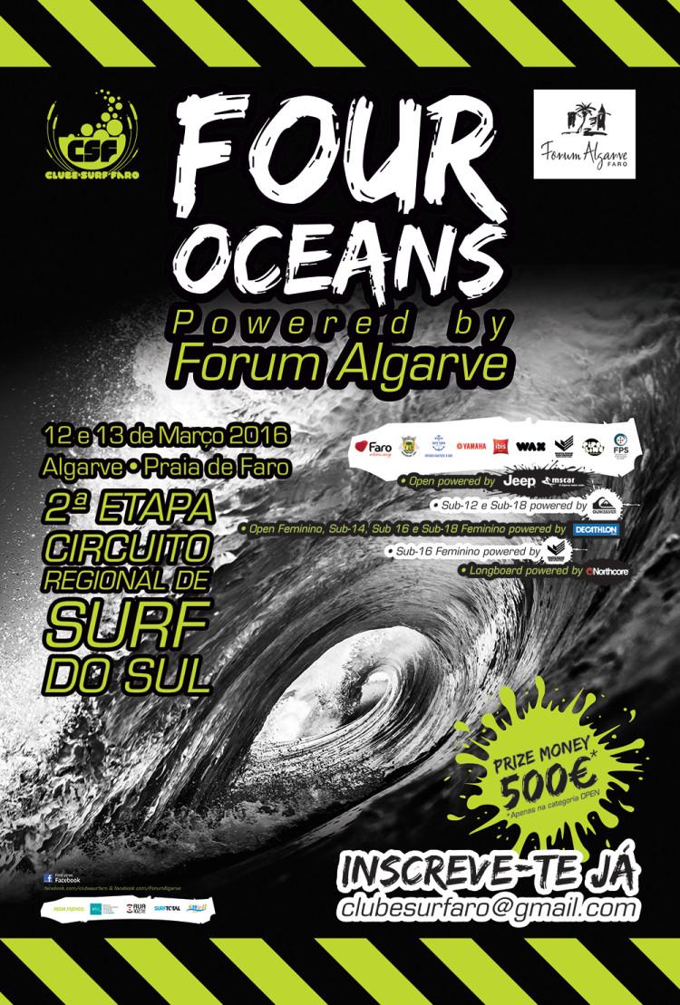 Cartaz Four Oceans 2016