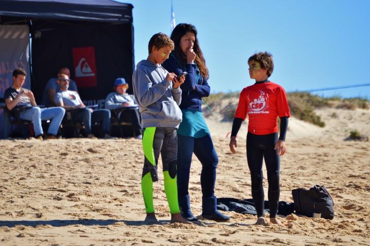 Diogo Pereira (à direita) discute tática com Joana Freira, a sua treinadora. Diogo voltou a vencer com uma exibição muito forte (®LuisGamito)
