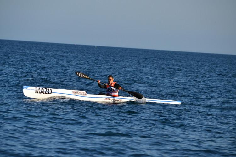 Ana Bebiano em plena prova, que venceu na categoria SS-1 Vet-A (®KCCA)