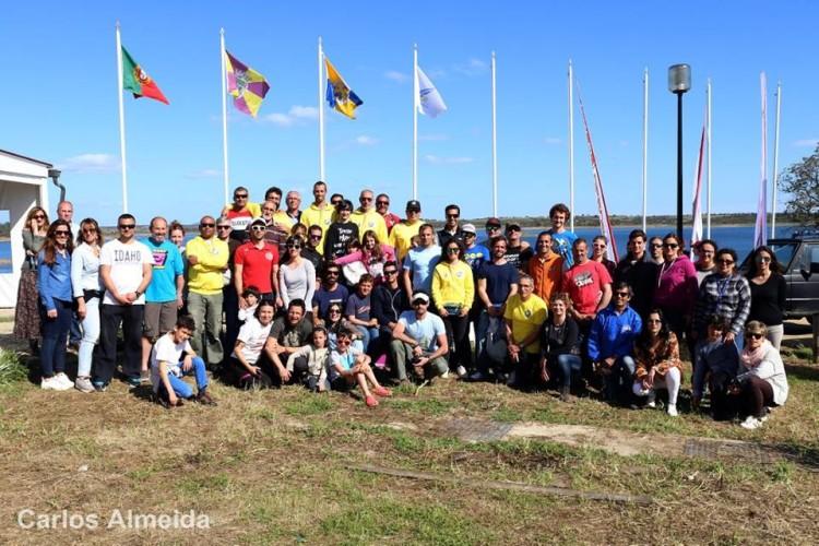 Foto de grupo. Organização diz que foi o melhor evento FW de sempre no Alqueva (®CarlosAlmeida)