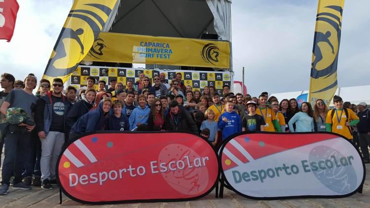Encontro Nacional de Surf Escolar juntou uma centena de praticantes de Norte a Sul do País (®IsabelleWP)