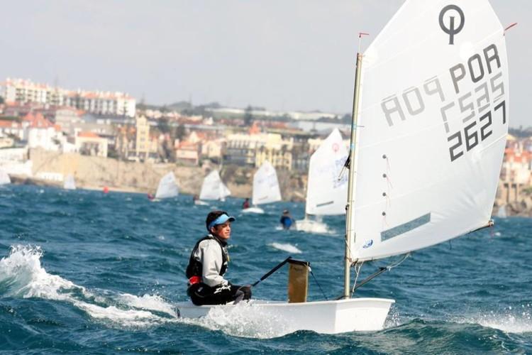Manuel Fortunato foi desclassificado na última regata do dia. Se não fosse, estava em 3º na geral (®FPV)