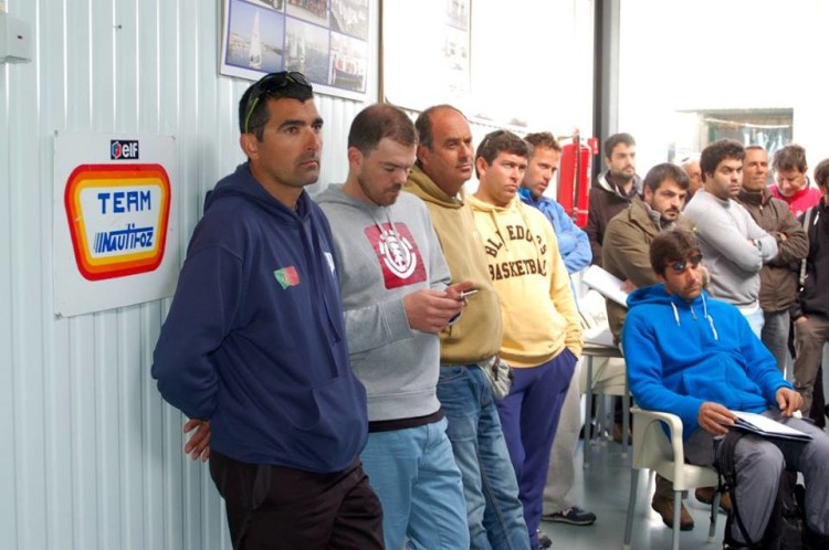 Treinadores algarvios em reunião técnica nas instalações do Clube Náutico da Figueira da Foz (®CNFF)
