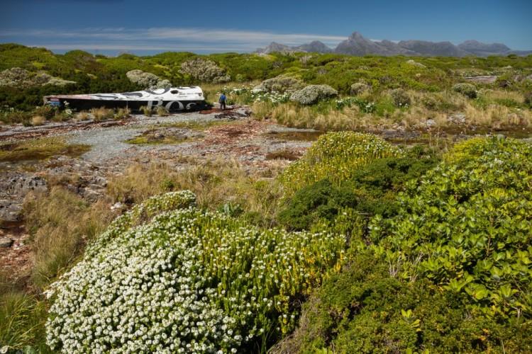 Destroços do 'Hugo Boss' foram encontrados a cerca de 300 metros do mar (®RogerRoviraRius)