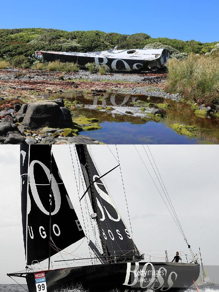 'Hugo Boss' viajou à deriva mais de 20 mil quilómetros (®ChristianDonoso)