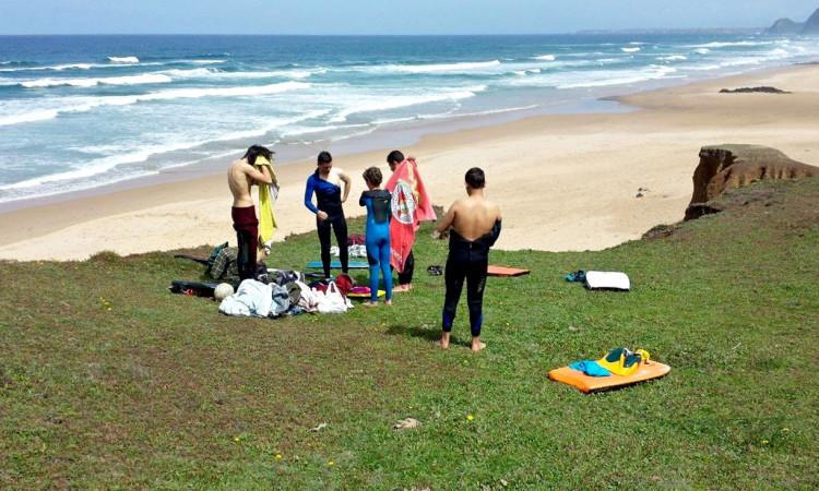Esperanças ABS depois de um treino no Algarve (®ABS)