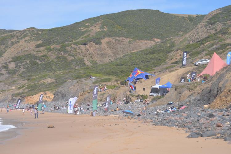 Ponta Ruiva foi o palco da prova em 2015. O local para este ano será anunciado 5ª ou 6ª feira (®PauloMarcelino/Arquivo)