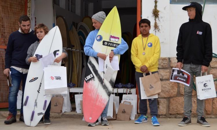 Pódio Sub-14, 3ª Etapa CRSSul 2016, Praia da Rocha (®PauloMarcelino)