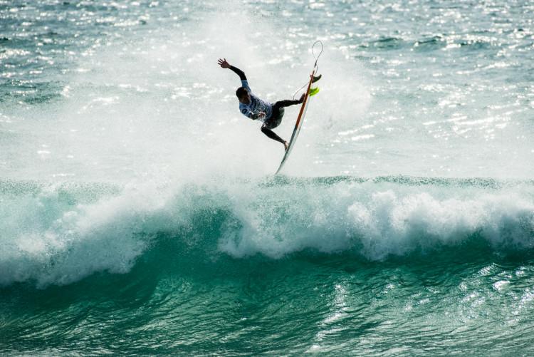 'Aerial' com que Filipe Jervis eliminou Tiago Pires (®PedroMestre/ANS)