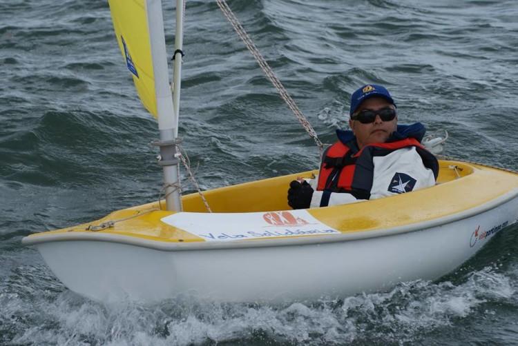 Noel Coelho (Vela Solidária / ICMPortimão) foi 4º classificado em 2.3, singulares (®DR)