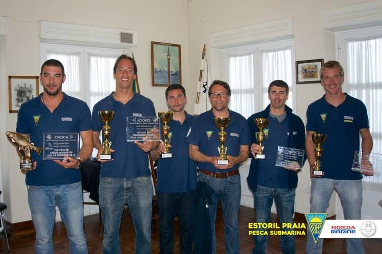 Estoril-Praia / Honda Marine venceu o campeonato por equipas (®Estoril-Praia)